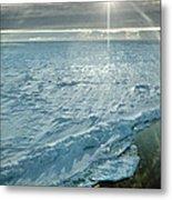 Due South 1.30am Ross Sea Metal Print