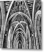 Duke Chapel Arches Metal Print