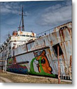 Duke Of Graffiti Metal Print