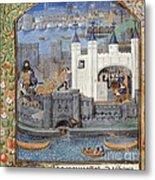 Duke Of Orleans, Tower Of London, 1430s Metal Print