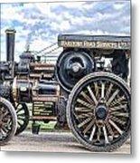 Duke Of York Traction Engine 4 Metal Print