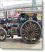 Duke Of York Traction Engine 6 Metal Print