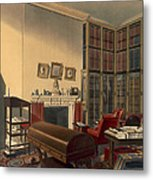 Dukes Own Room, Apsley House, By T. Boys Metal Print