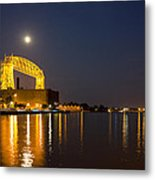 Duluth Aerial Lift Bridge Metal Print