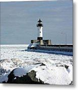 Duluth Harbor Lighthouse Metal Print