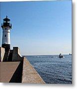 Duluth Harbor North Breakwater Lighthouse Metal Print