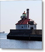 Duluth Harbor South Breakwater Lighthouse Metal Print