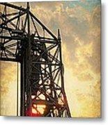 Duluth Lift Bridge Metal Print