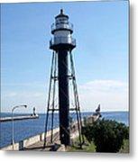 Duluth Mn Lighthouses  Metal Print