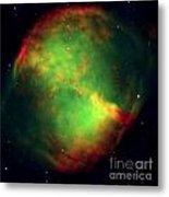 Dumbbell Nebula Metal Print