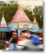 Dumbo Flying Elephants Fantasyland Signage Disneyland 02 Metal Print