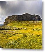 Dun Aonghasa - Iron Age Irish Ruins Metal Print by Mark E Tisdale