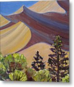 Dune Field Metal Print by Susan McCullough