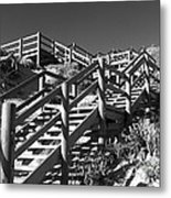 Dune Steps 04 Metal Print