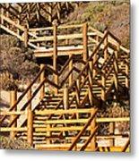 Dune Steps 06 Metal Print