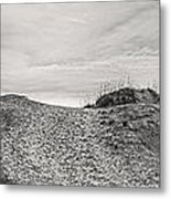 Dune Trail Metal Print