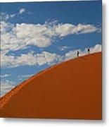 Dune Walkers Metal Print