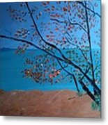 Lake Michigan Dunes Metal Print