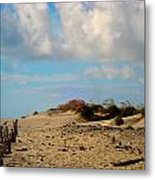 Dunes At Obx Metal Print