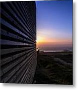 Dunes Sunset Metal Print
