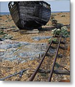 Dungeness Days 1 Metal Print