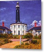 Dungeness Old Lighthouse Metal Print