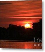 Dunlawton Sunrise Metal Print