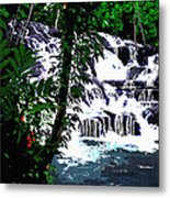 Dunns River Falls Jamaica Metal Print