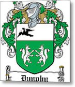 Dunphy Coat Of Arms Irish Metal Print