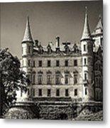 Dunrobin Castle Scotland Metal Print
