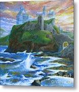 Dunscaith Castle - Shadows Of The Past Metal Print