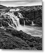 Dunseverick Waterfall Metal Print