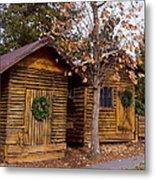 Dunwoody Farmhouse Cabins Metal Print