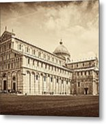 Duomo And Tower Metal Print