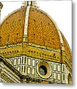 Duomo Florence Italy Metal Print