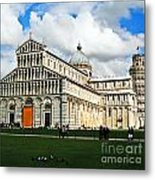 Duomo Of Field Of Dreams Metal Print