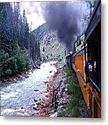 Durango To Silverton Metal Print