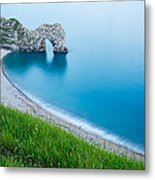 Durdle Door In The Evening Metal Print