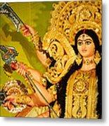 Durga Idol Metal Print