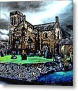 During The Storm Metal Print