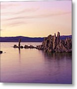 Dusk At Mono Lake Metal Print