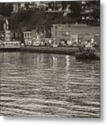 Dusk At Sausalito Metal Print