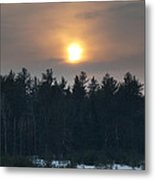 Dusky Sunset Metal Print