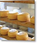 Dutch Cheese Metal Print