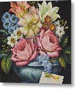 Dutch Flowers Metal Print