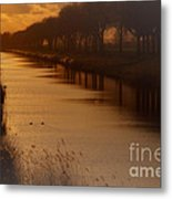 Dutch Landscape Metal Print
