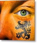 Dutch Royal Lion Metal Print