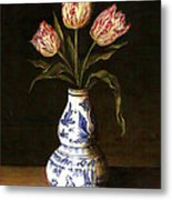 Dutch Still Life Metal Print