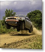 Dw Rally Team Takes Flight Metal Print