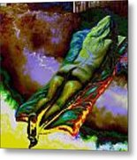 Dwelling In Erotic Pleaseure Metal Print